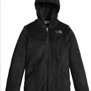 Medium North Face jacket black